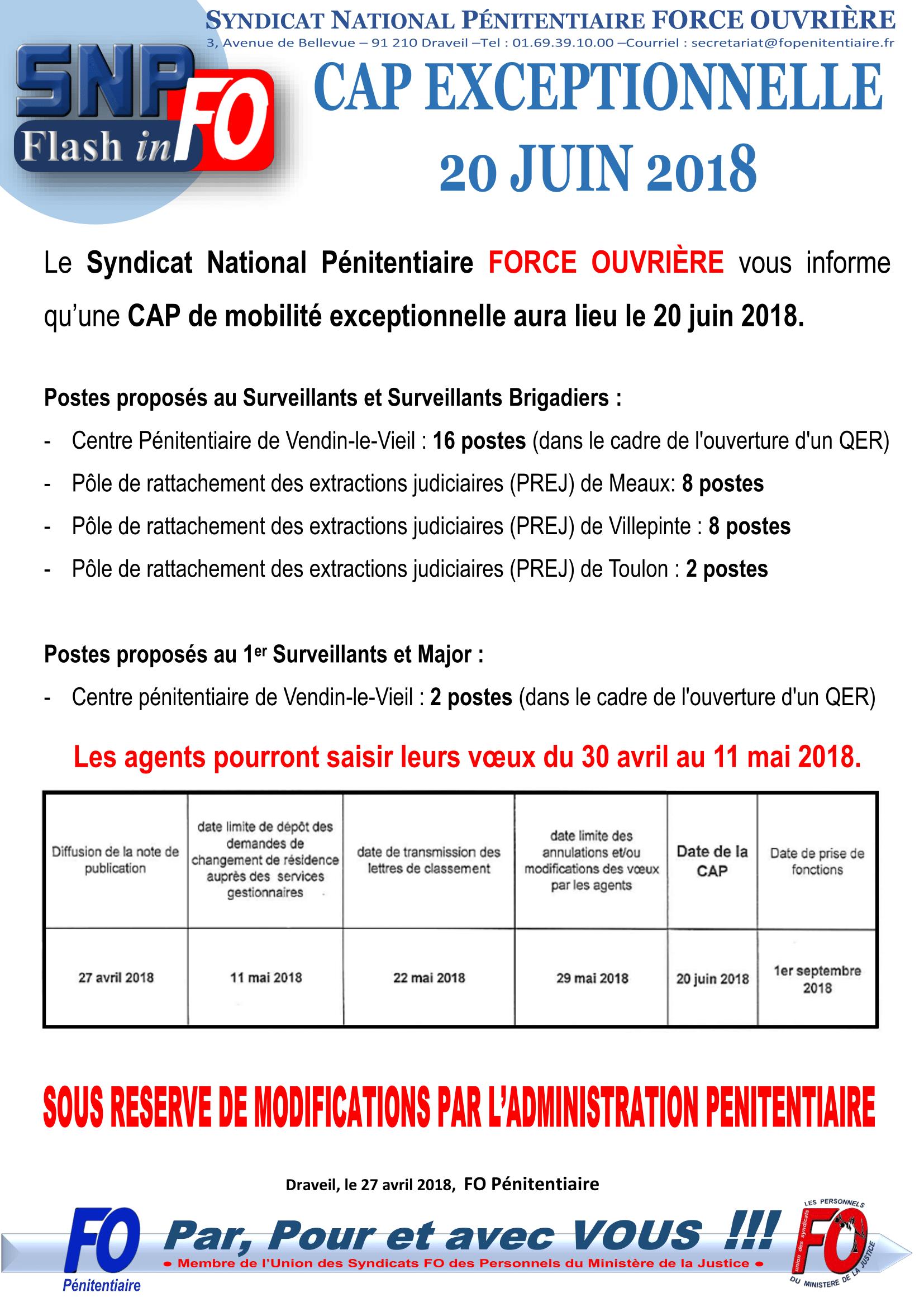 20180427 -Flash-Info - CAP exceptionnelle 20 juin 2018 (1)-1