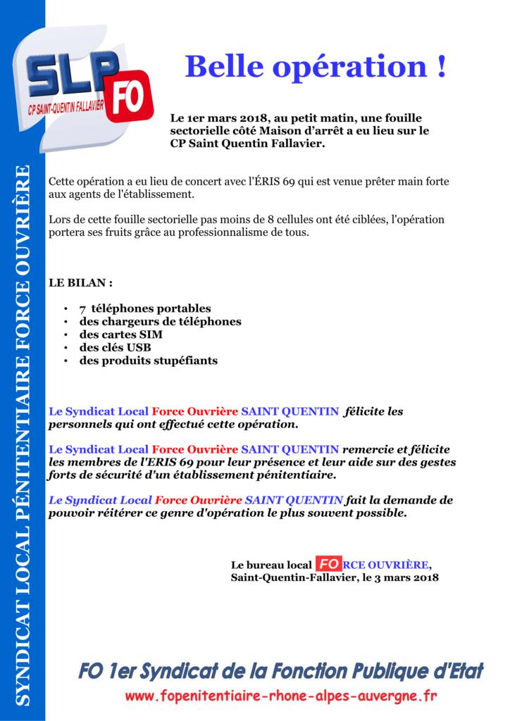 Belle opération CP Saint-Quentin-Fallavier-1