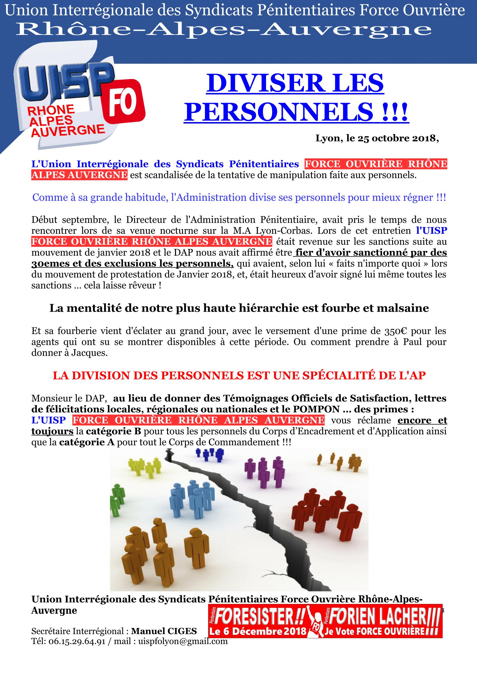 Diviser les personnels UISP (1)-1