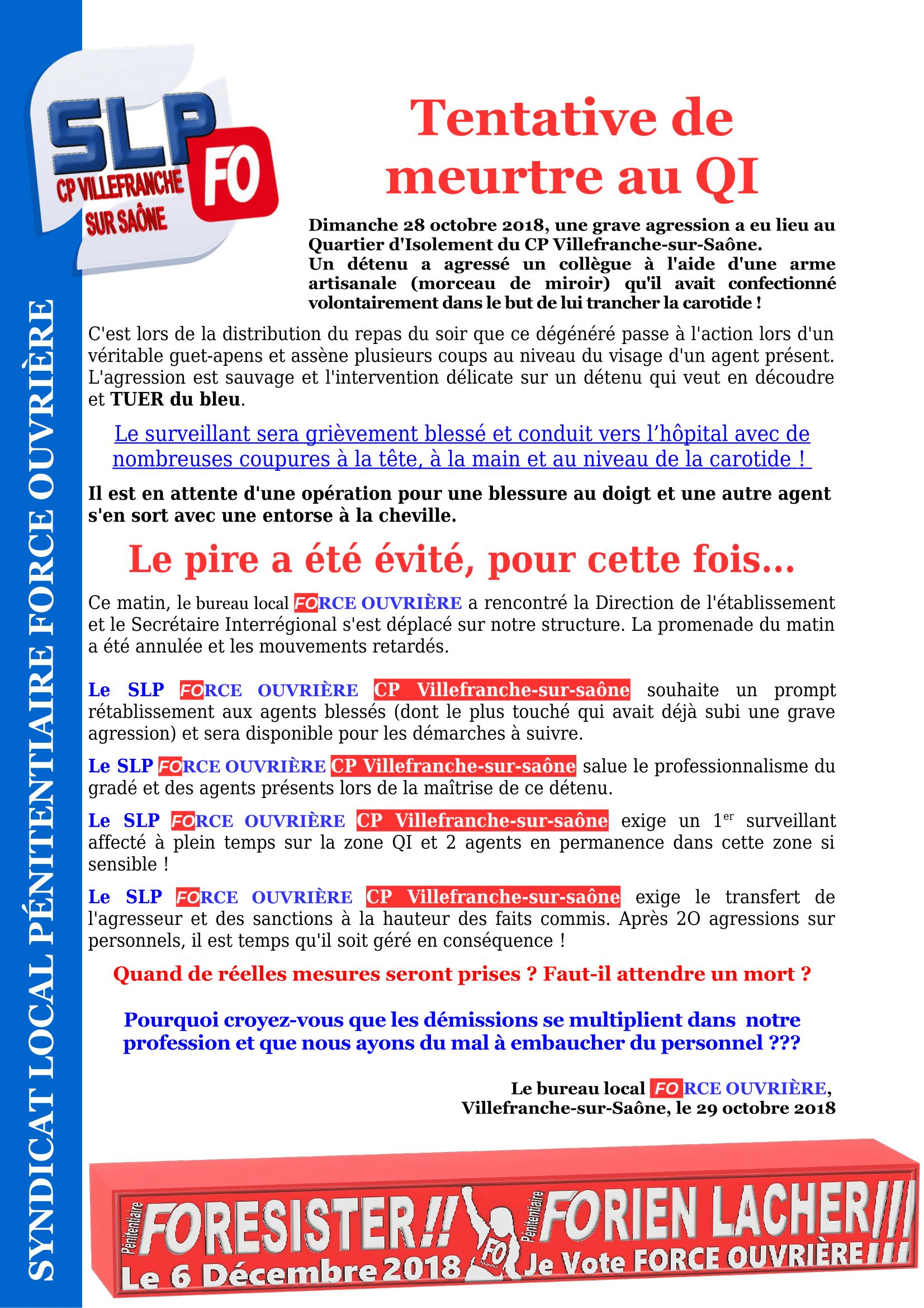 Tentative de meurtre QI CP Villefranche 291018-1