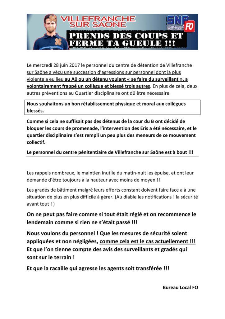 agressions multiples et blocage cours-28 juin-page-001