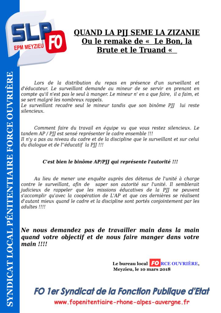 Communiqué EPM du Rhône-1