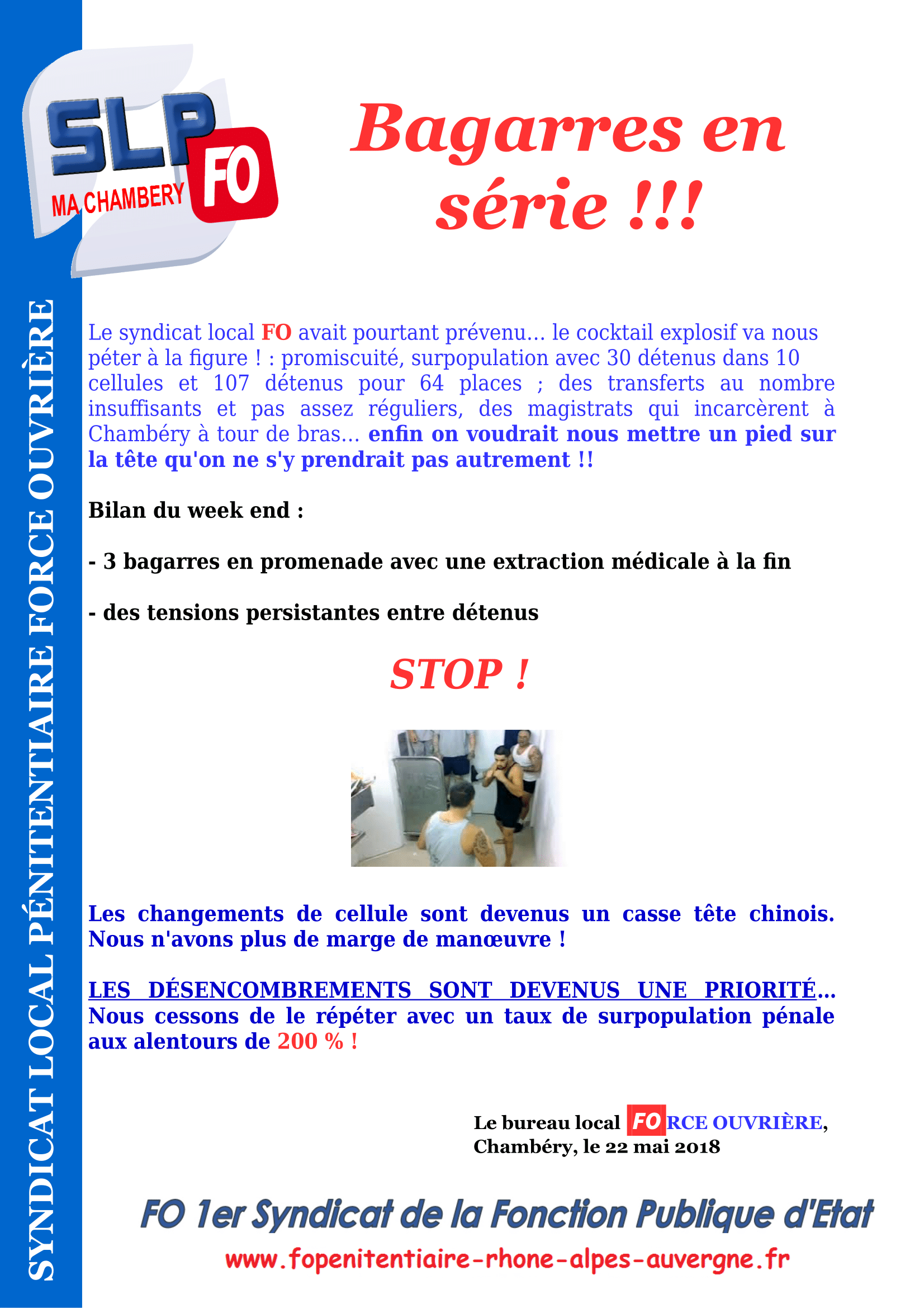 Tract MA Chambery - bagarres en série-1