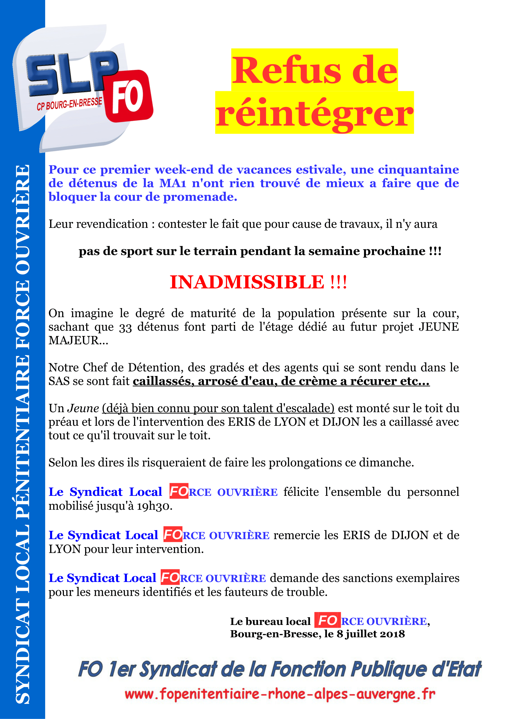 Tract refus de réintégrer-1